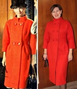 Audrey Hepburn's coat