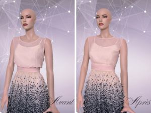 Adjusting a dress Montreal