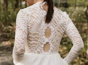 Custom wedding gown Montreal 2