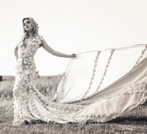 Long tail gown Montreal -