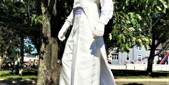 Stilt walker costume Montreal