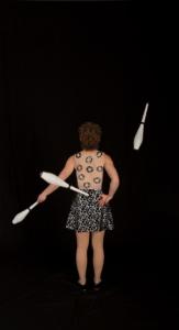 La robe courte pour actrice de cirque Montreal -