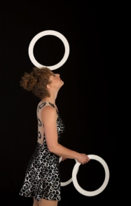 La robe courte pour actrice de cirque Montreal