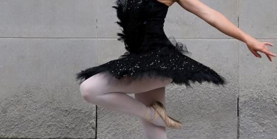 Une robe tutu: Mireille Enjoie Montreal