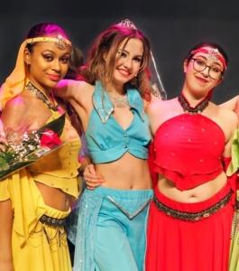 Oriental dance costumes Aladdin